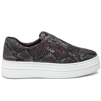 Noel Snake Embossed Sneaker