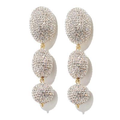 Crystal Bubble Drop Earrings