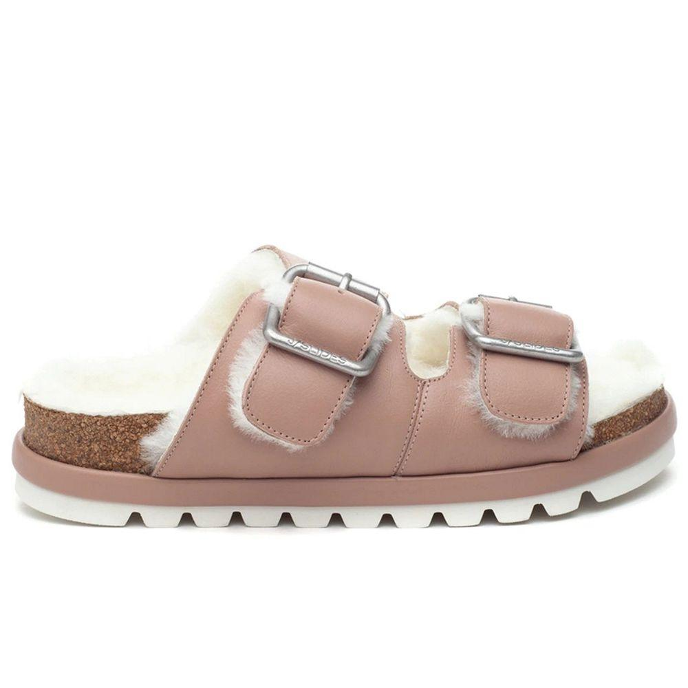 Lynx Shearling Sandal Item # 119AL2286-1