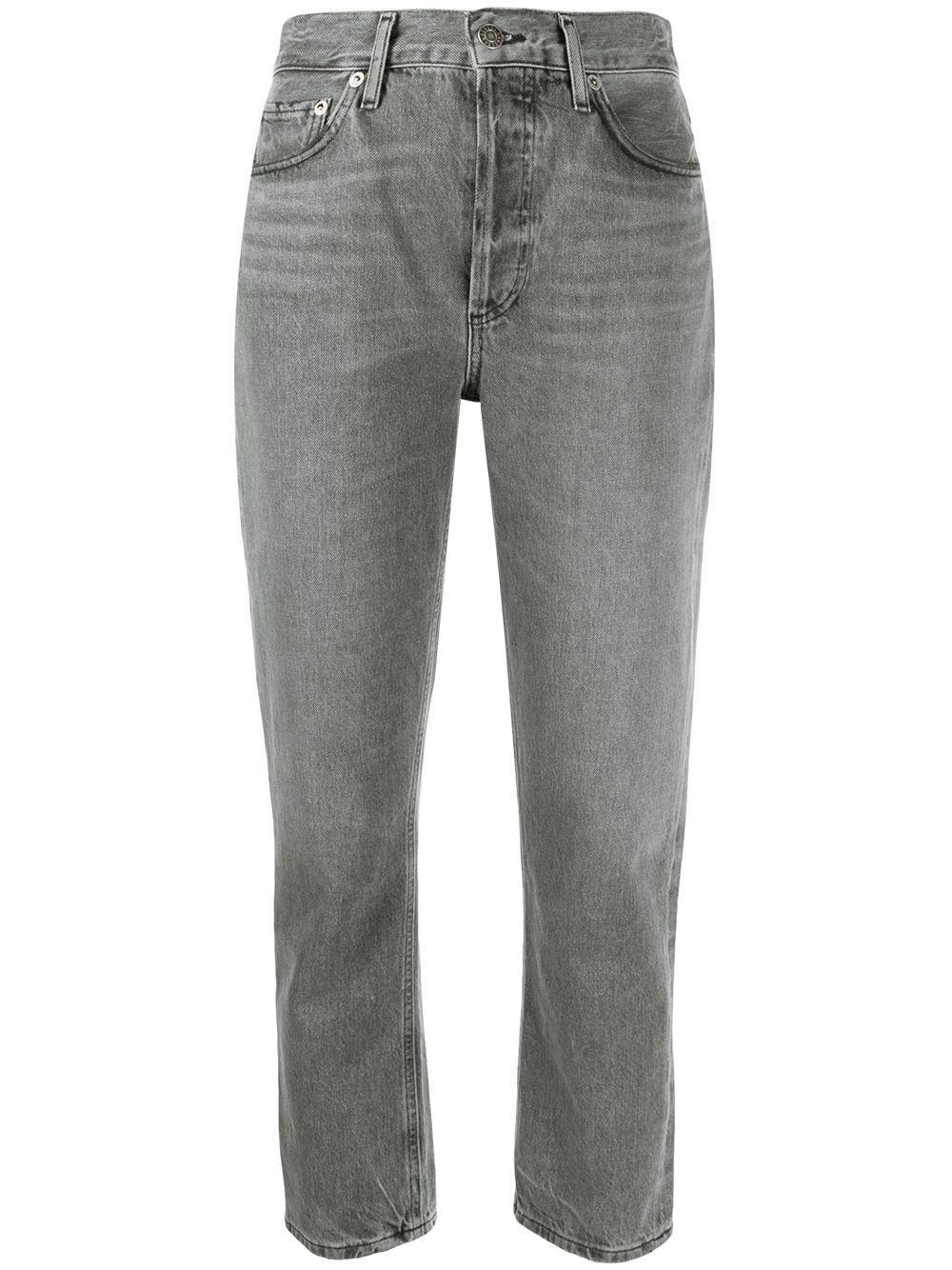 Riley Cropped Straight Leg Jean Item # A056C-1157