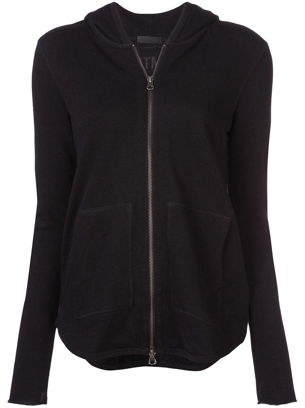 French Terry Zip Up Hoodie Item # AW1803-FO