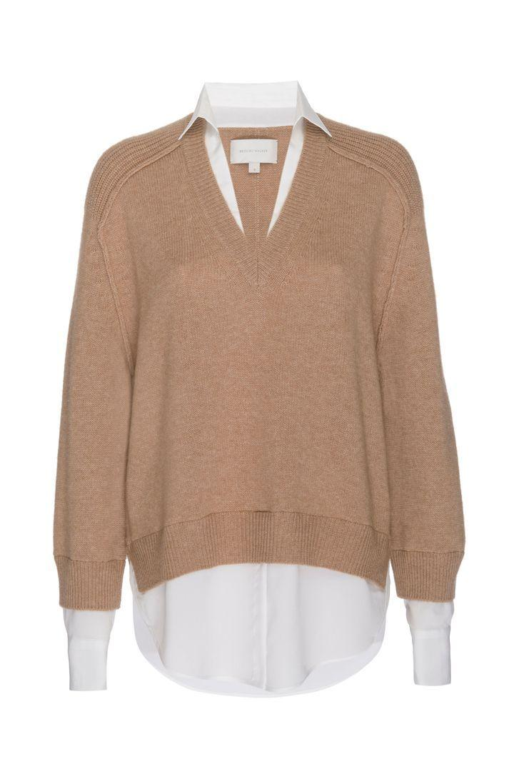 The Looker Layered V-Neck Pullover
