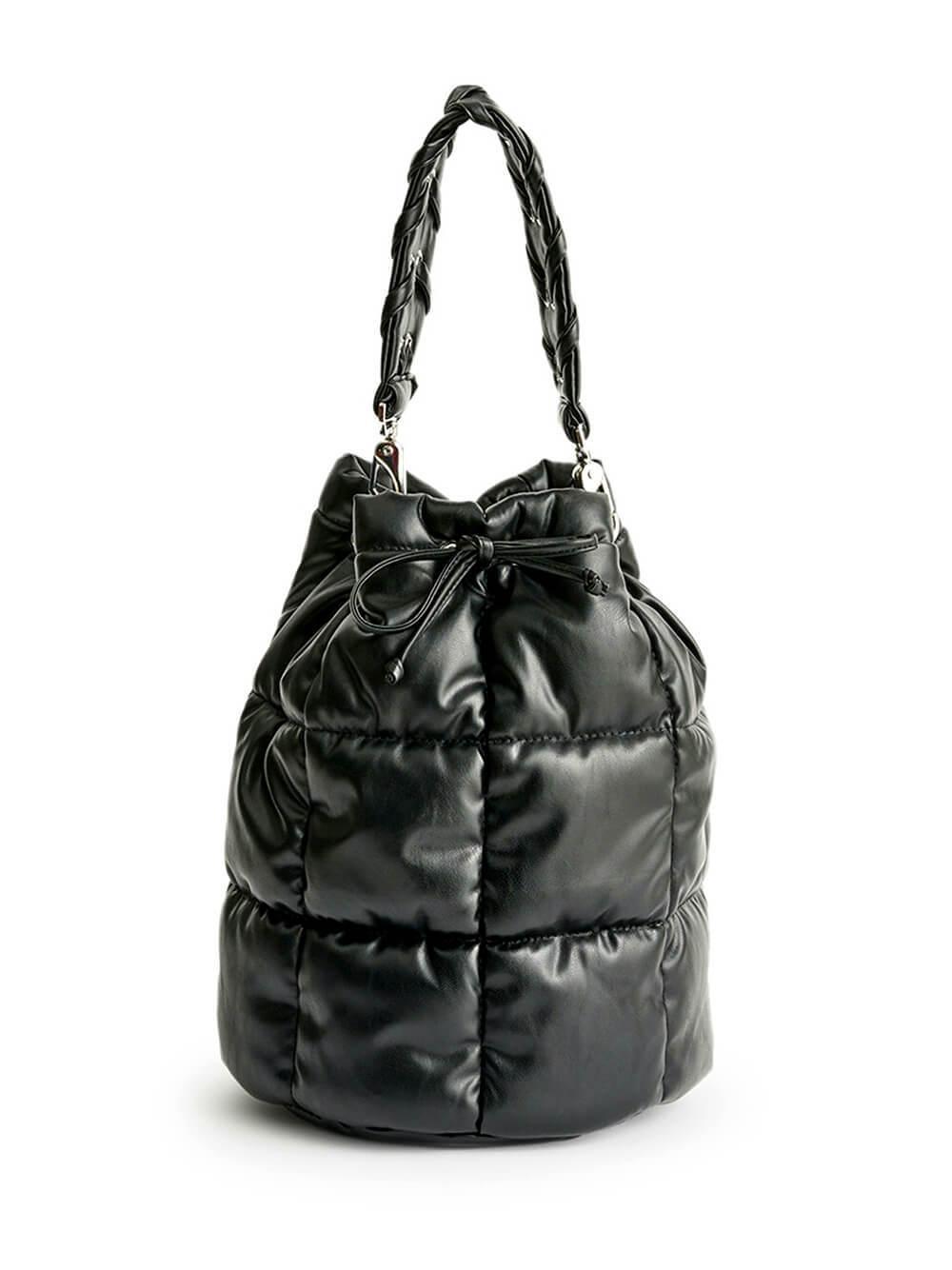 Scarlet Quilt Bucket Bag Item # 61194-8100