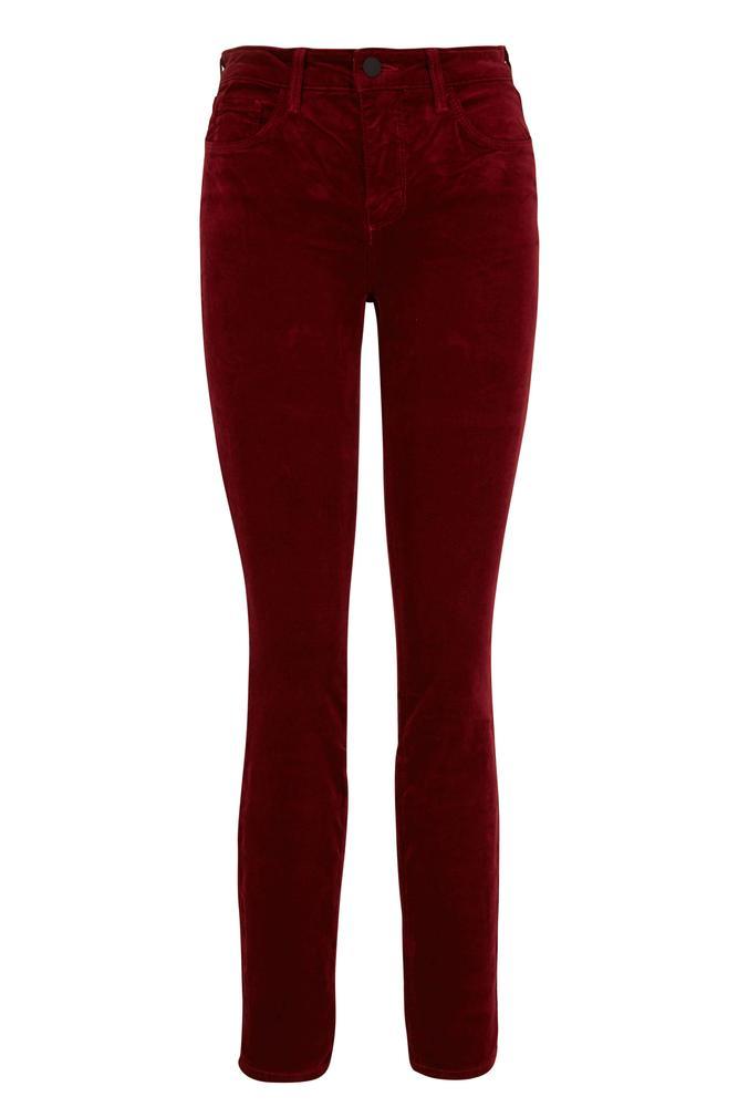 Marguerite Velvet Skinny Jean