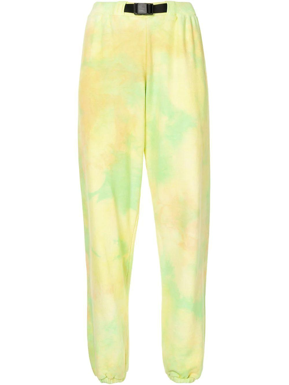 Marble Mix Belted Sweatpants Item # WC156M35566A