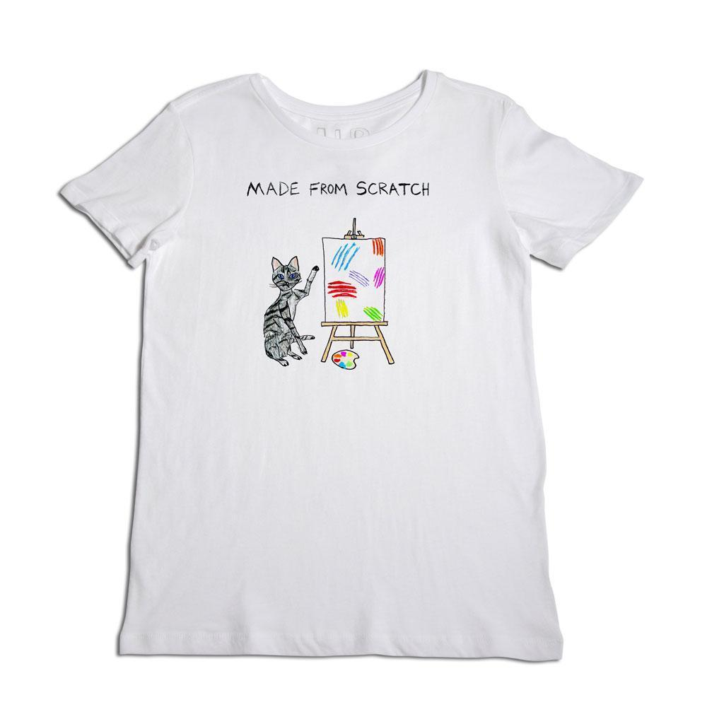 Made From Scratch White T- Shirt Item # UPW-228