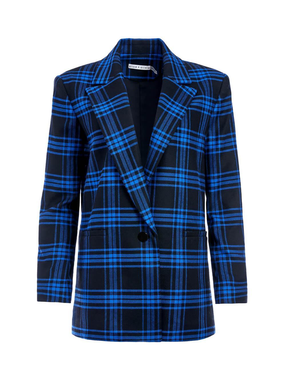 Denny Notch Collar Boyfriend Blazer Item # CC010R24204