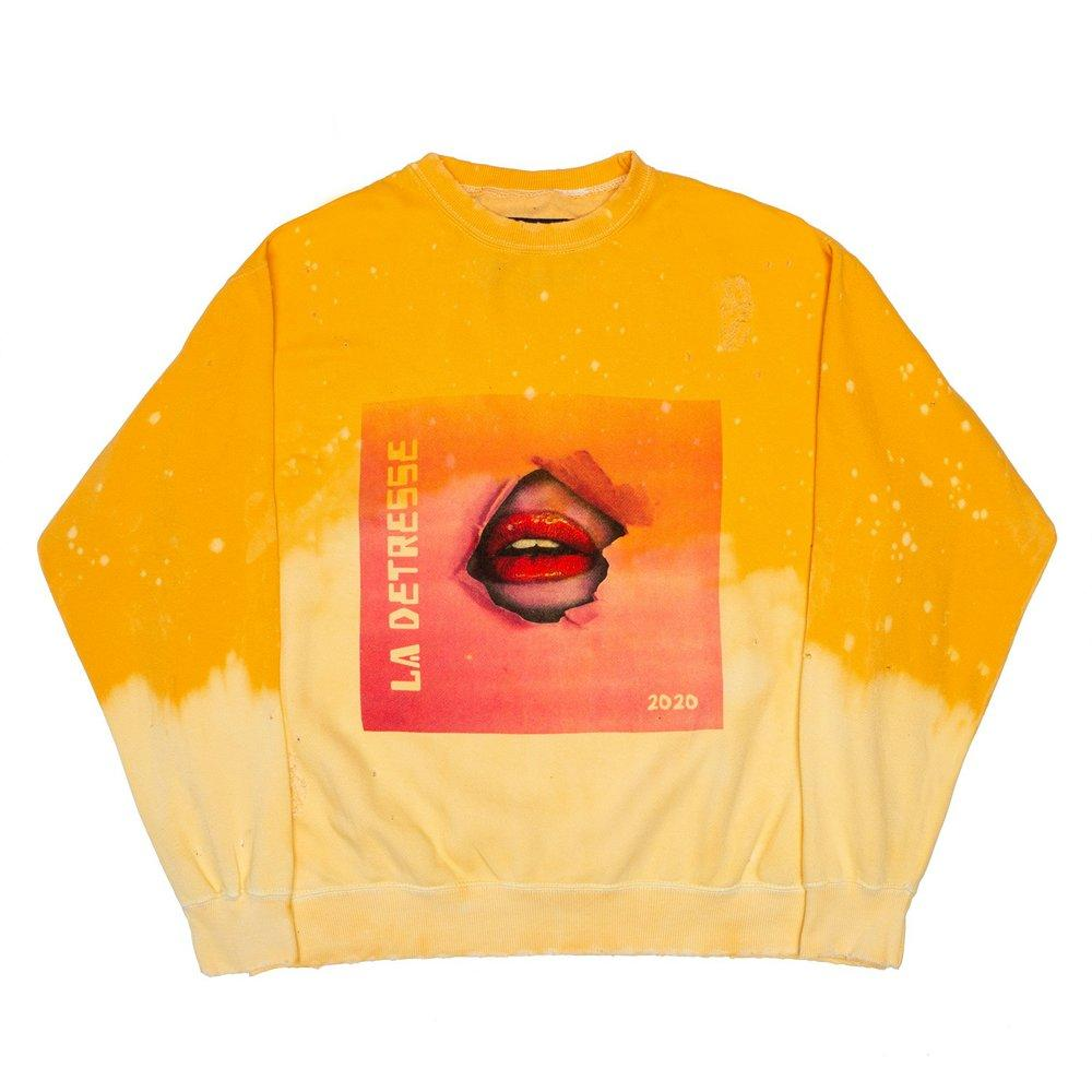 Acid Wash Sunrise Break Through Sweatshirt