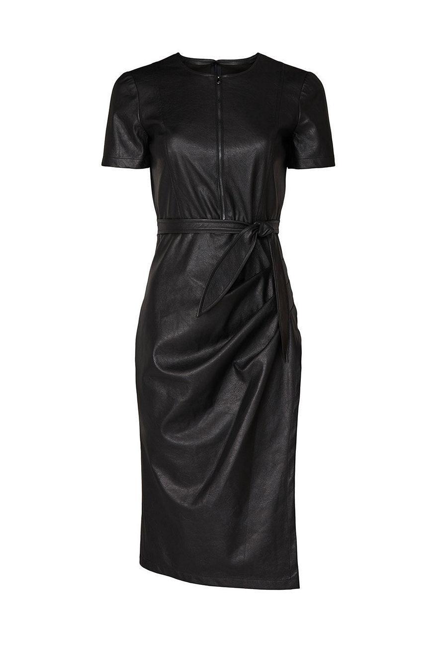 Pratt Faux Leather Dress