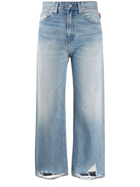 Pierce Distressed Hem Jean Item # DSW1200-201T