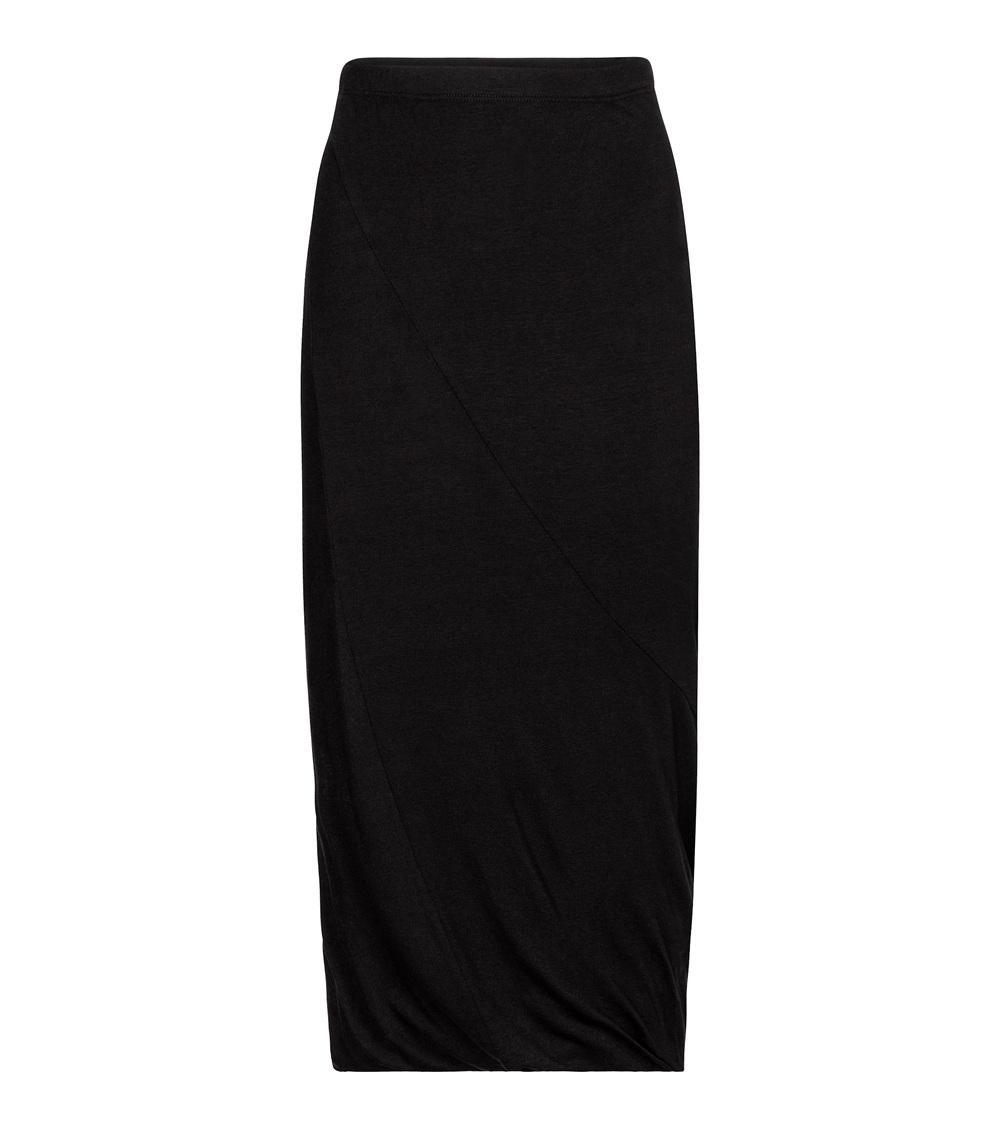 Harly Gauze Midi Skirt