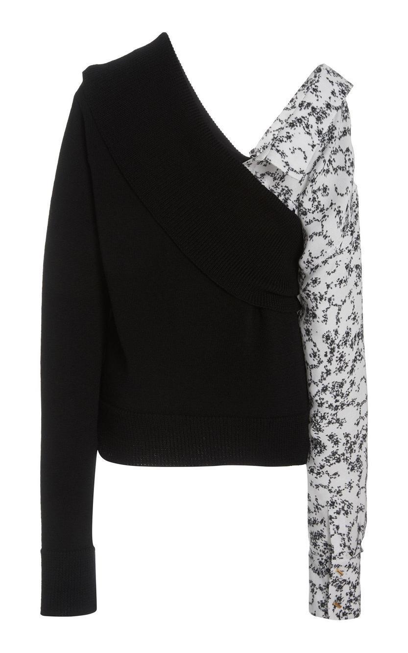 Joffrey Sweater With Detachable Sleeve Item # HA20K097-74