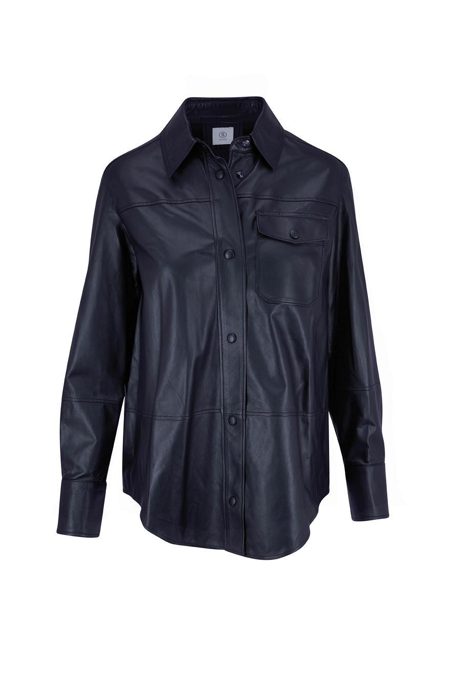Francy Leather Shirt