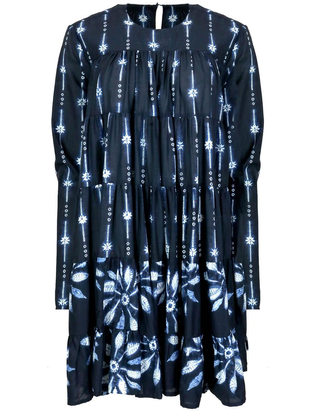 Soliman Shibori Dress Item # 1C5N17SL