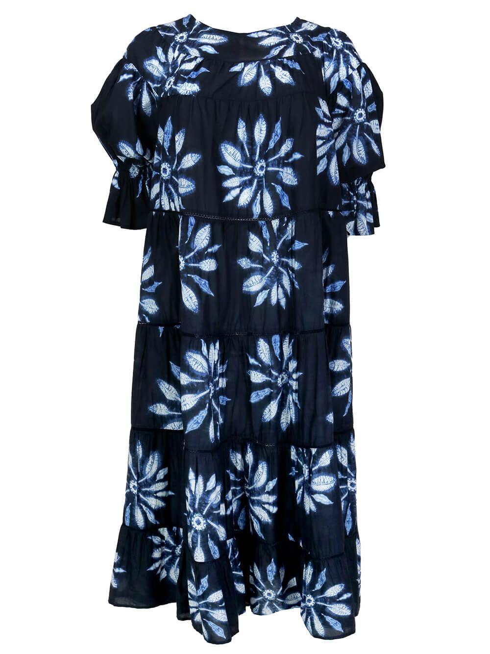Paradis Shibori Dress
