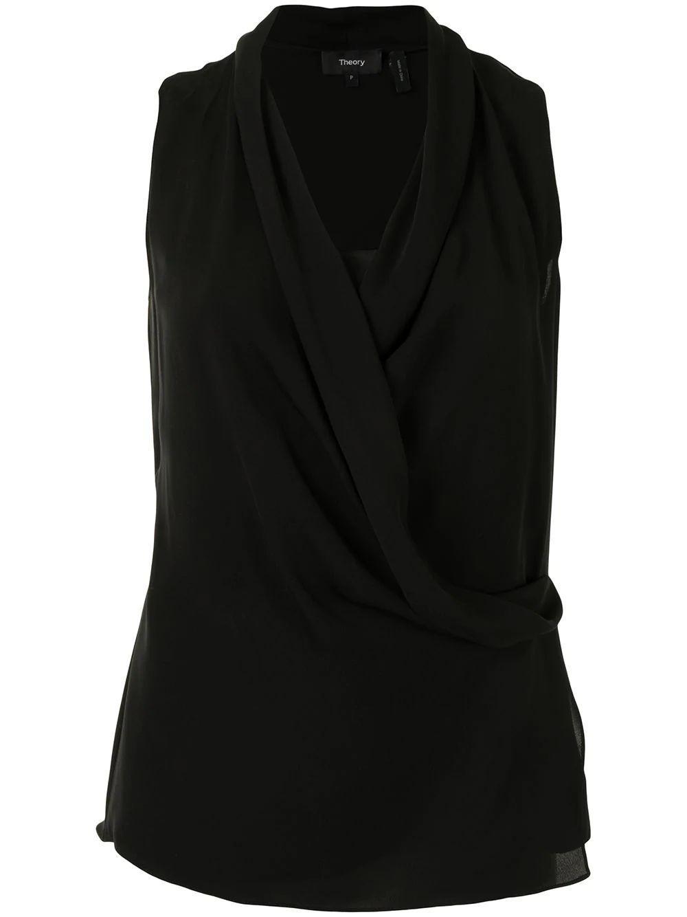 Draped Front Blouse Item # K0902502