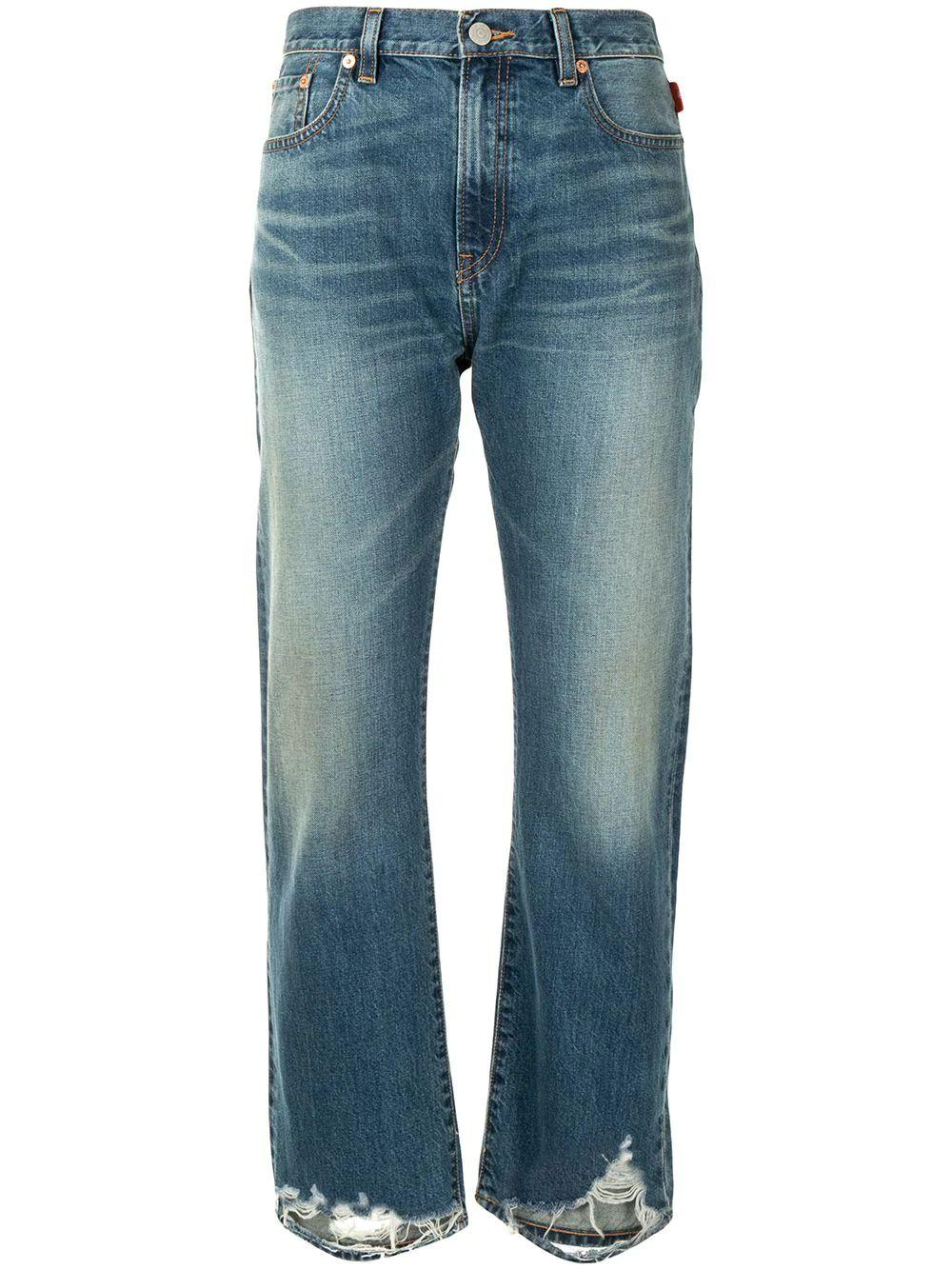 Joni Distressed Hem Jean