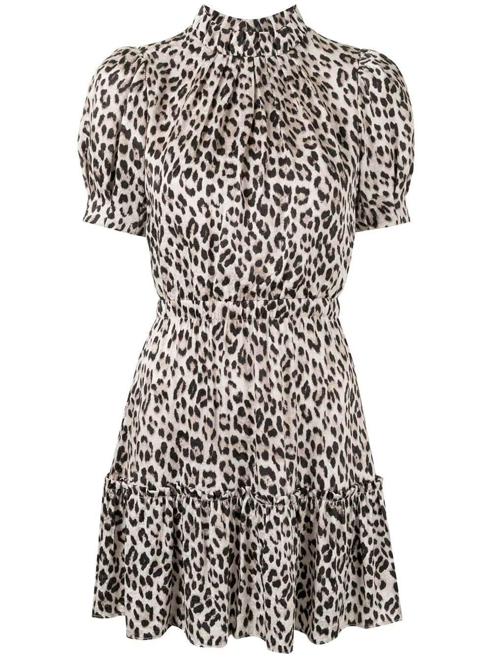 Vida Leopard Print Dress Item # CC010P41511