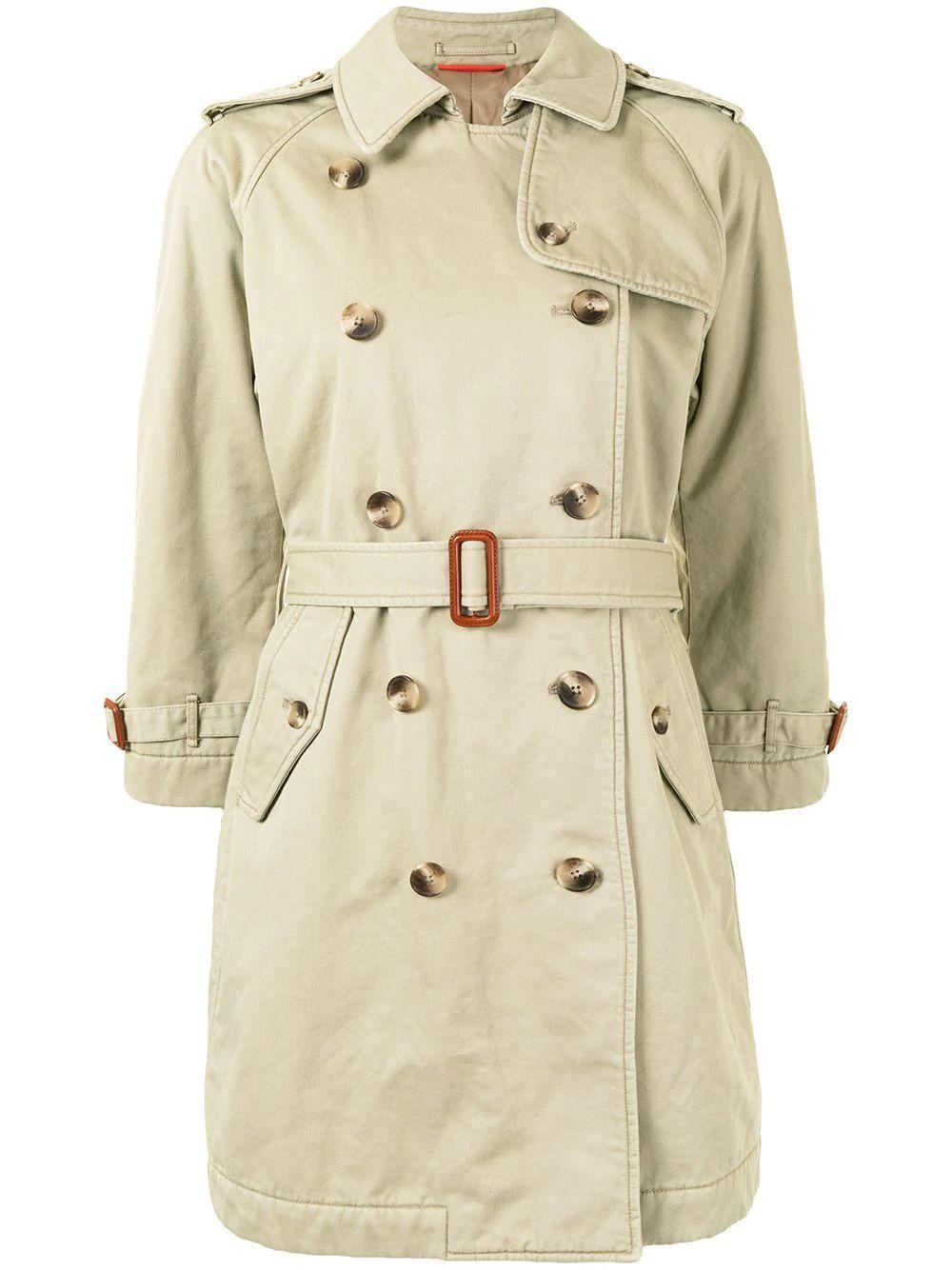 Winter Chino Trench Coat