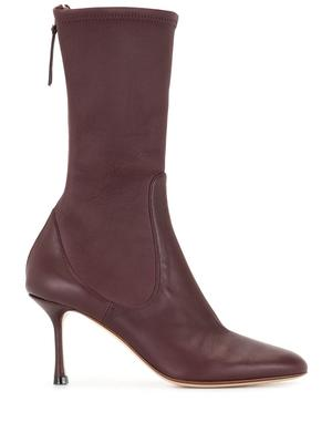 75mm Stretch Midi Boot