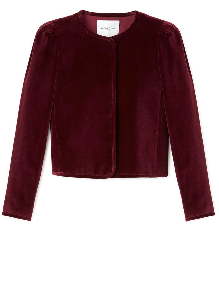 Scarlet Velvet Jacket Item # MJCH3V-1Q00