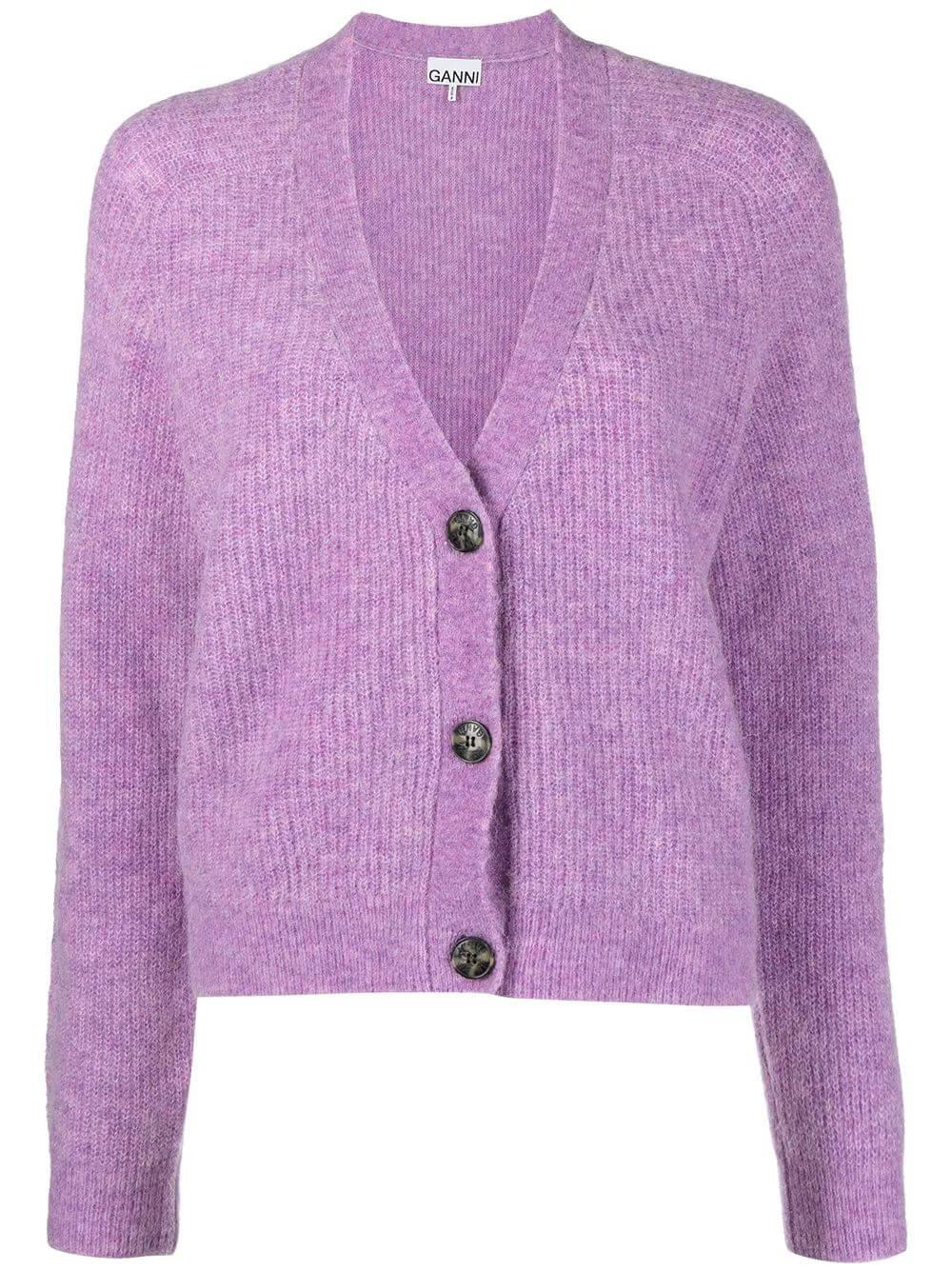 Wool 3 Button Cardigan