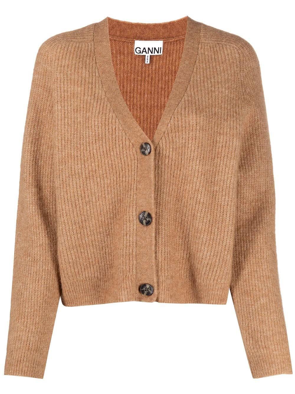 Wool 3 Button Cardigan