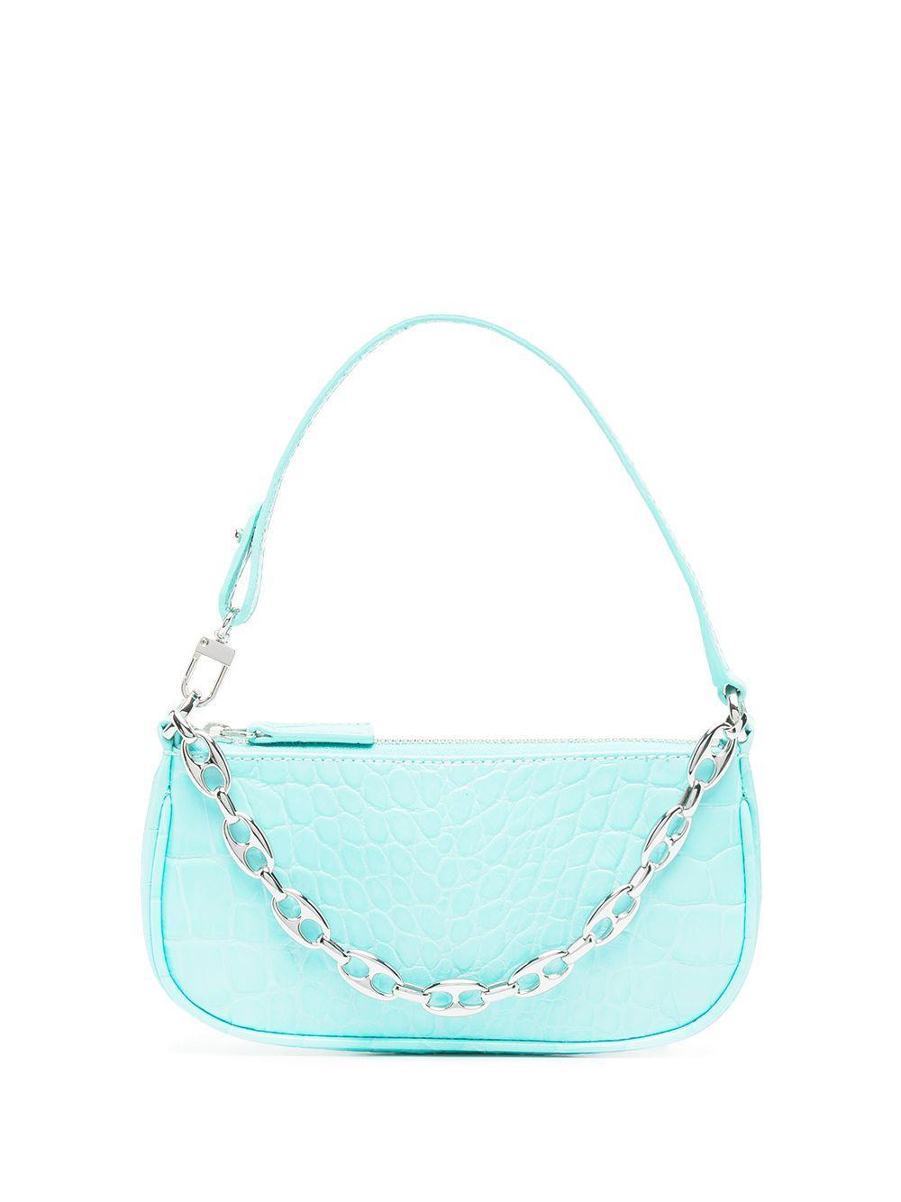 Mini Rachel Croc Shoulder Bag