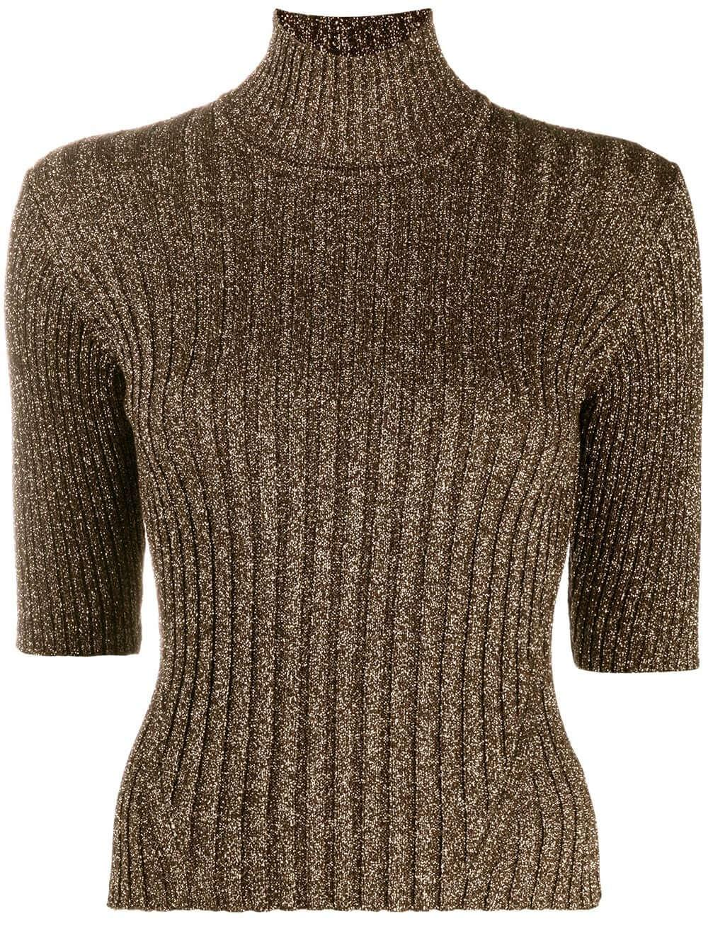 Glitter Knit Turtleneck