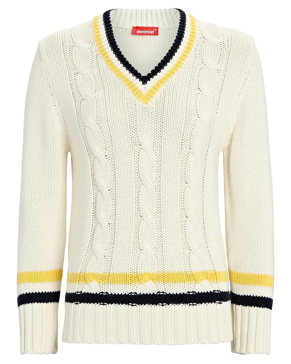 Shrunken Tennis Sweater
