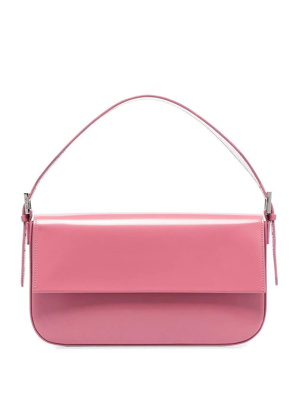 Manu Semi-Patent Shoulder Bag