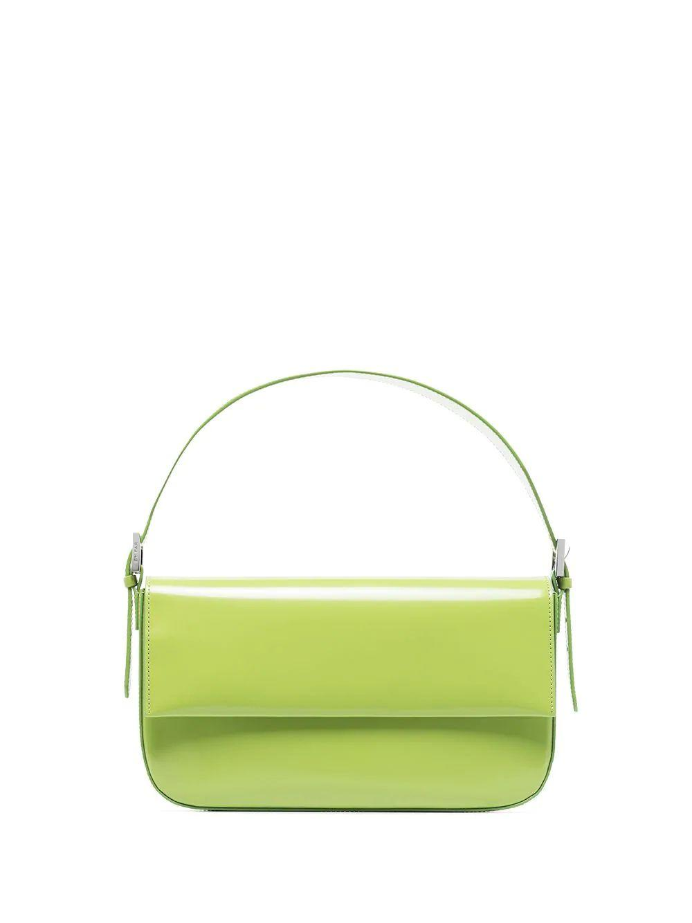Manu Semi-Patent Shoulder Bag
