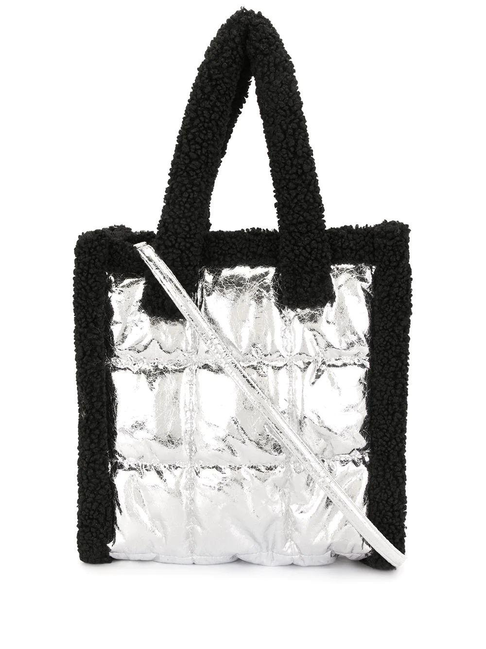 Tone Quilted Tote Bag Item # 61201-8040