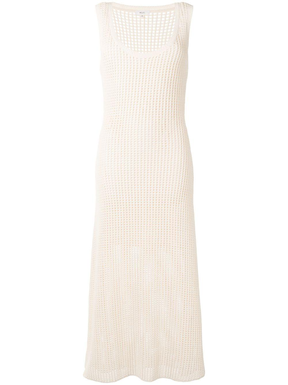 Knit Sleeveless Maxi Dress Item # 7SWDR00267