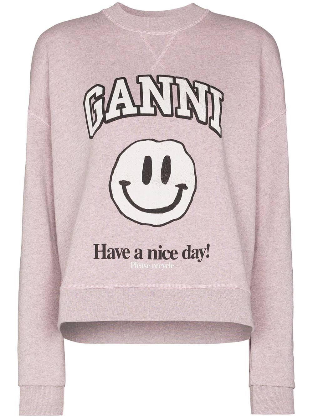 Isoli Smiley Face Sweatshirt Item # T2747