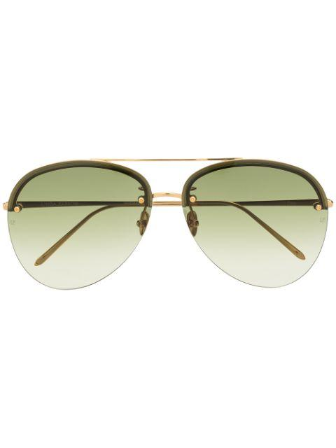 Dee Aviator Sunglasses Item # LFL1096C2SUN-C