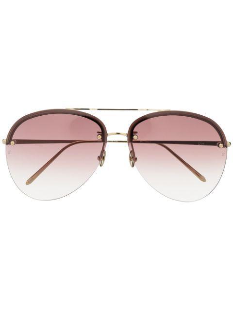 Dee Aviator Sunglasses Item # LFL1096C4SUN-C