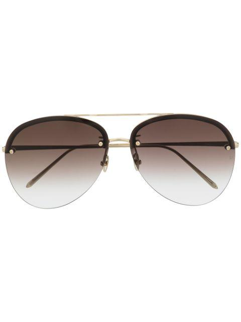 Dee Aviator Sunglasses Item # LFL1096C3SUN-C