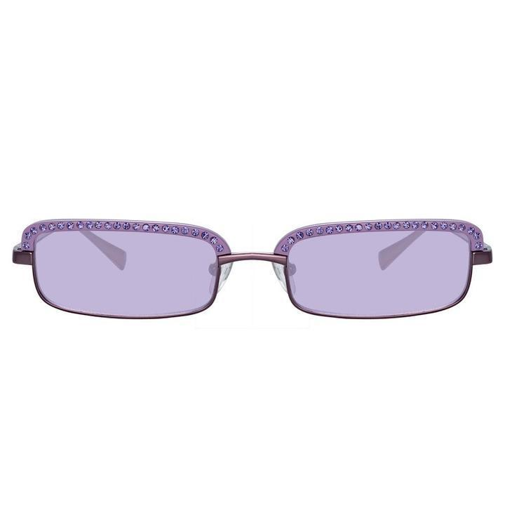 The Attico Dana Rectangular Sunglasses