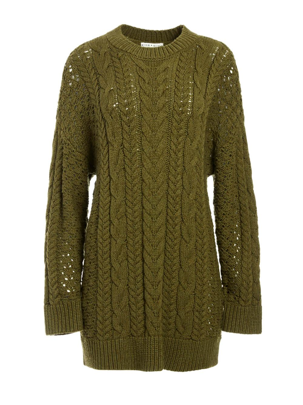 Lennie Cable Knit Dress