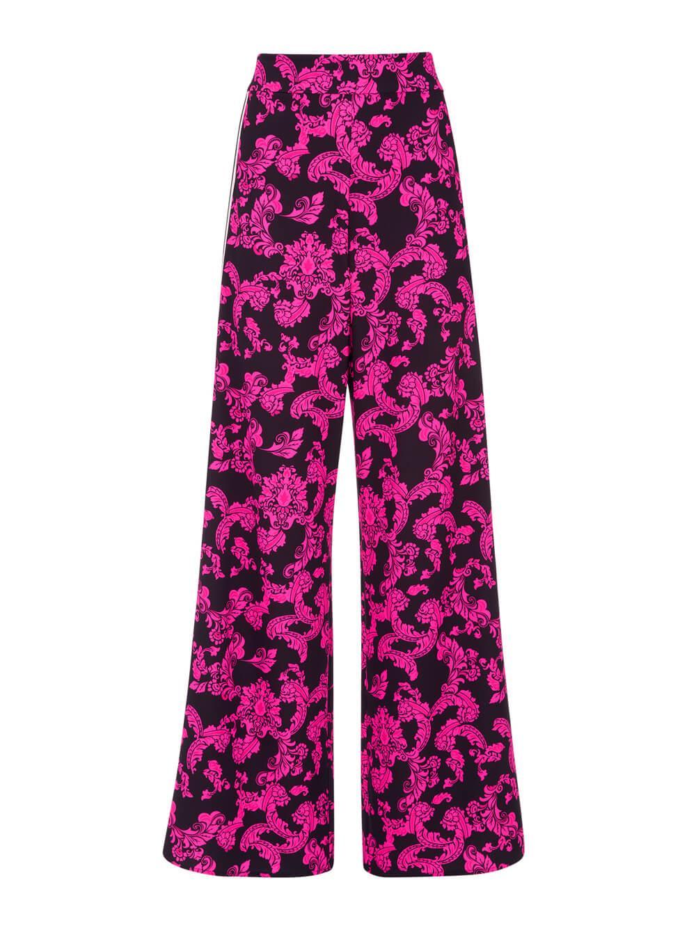 Athena Floral Wide Leg Pants Item # CC011P15105