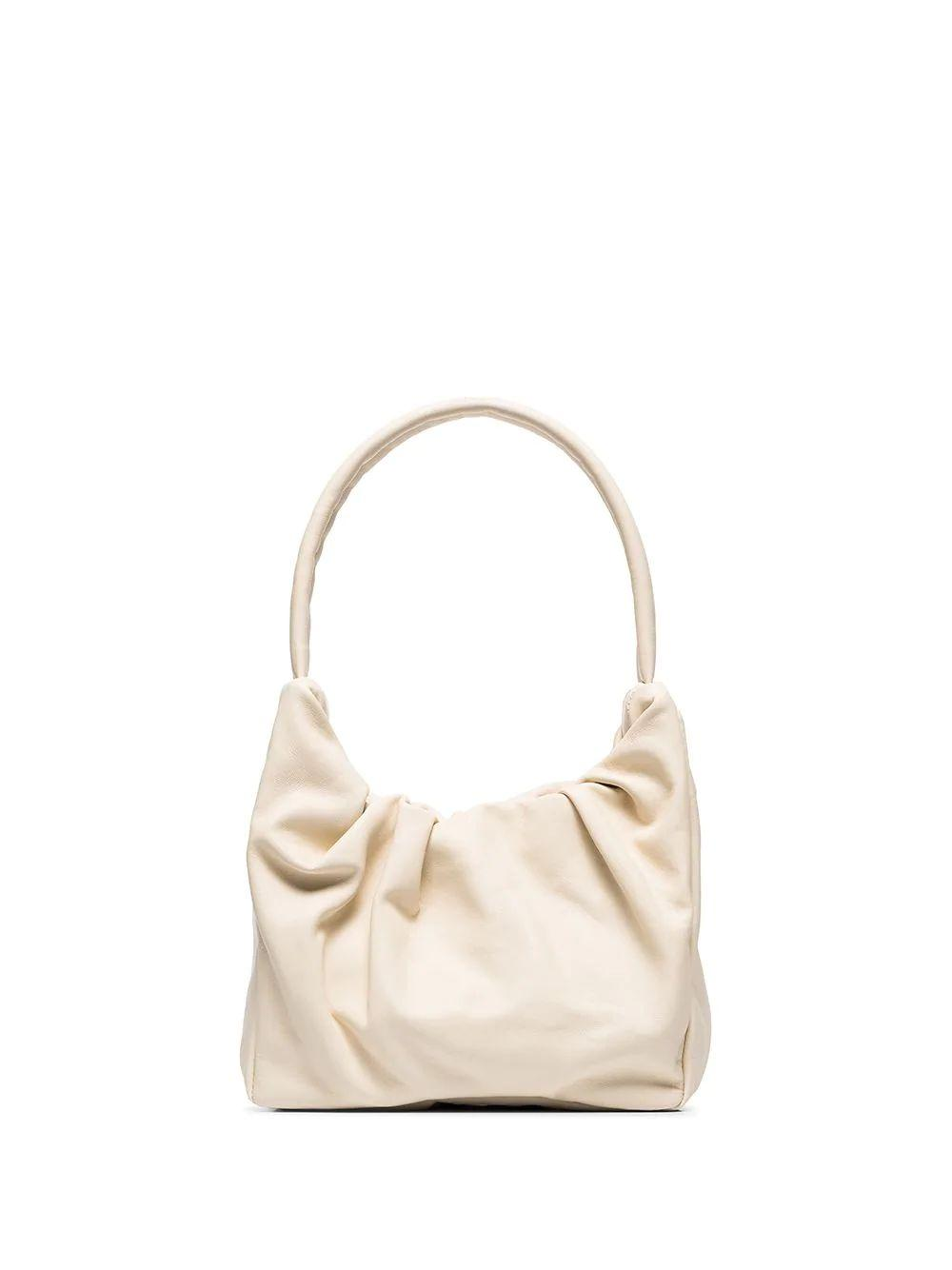 Felix Ruched Shoulder Bag