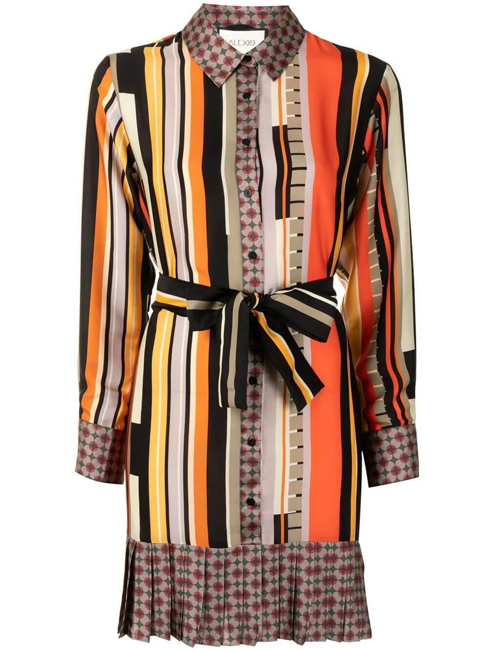 Payton Striped Dress Item # PAYTON-F20