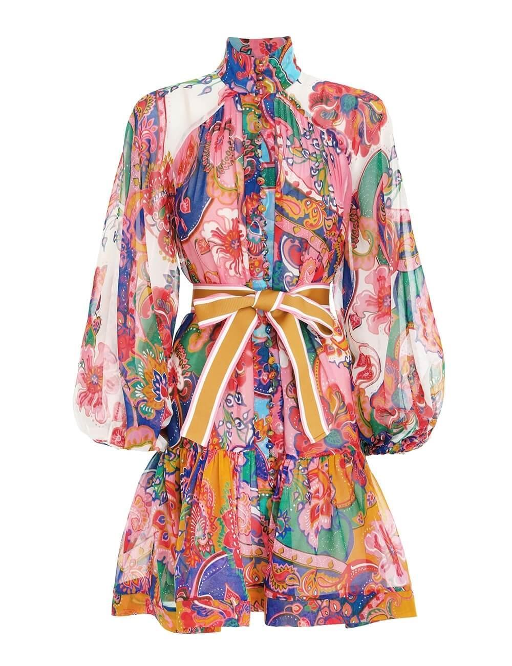 The Lovestruck Belted Mini Dress Item # 9793DAND