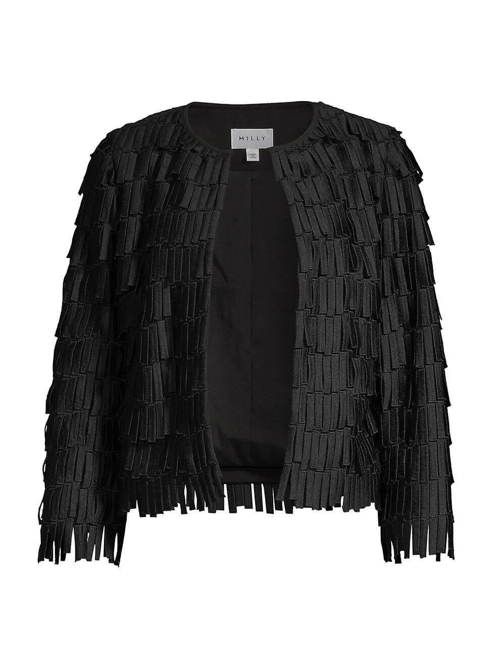 Fringe Embroidery Jacket Item # 09IJ93