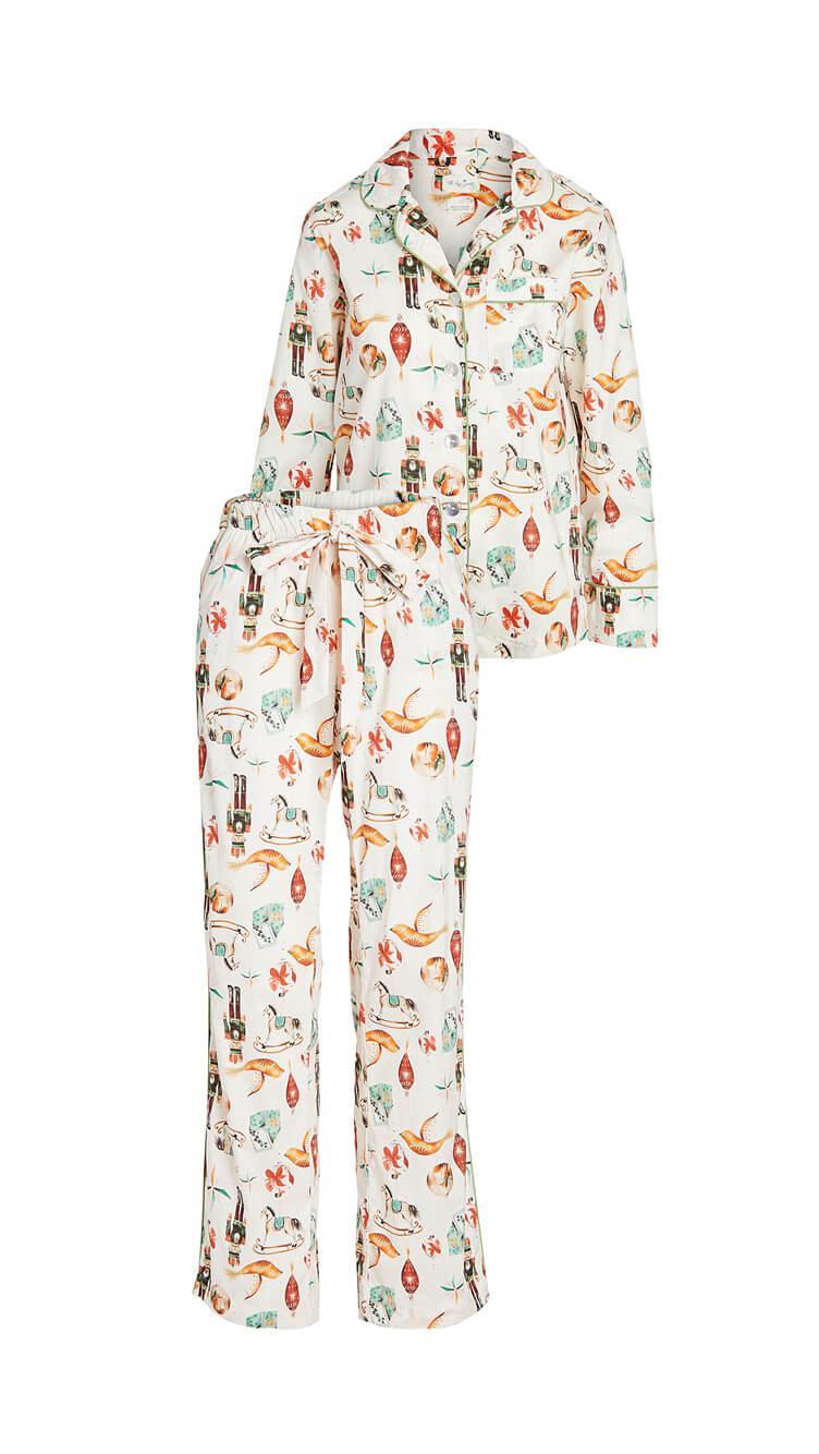 Emma Nutcraker Pajama Set Item # EMMA-NUTCRKR