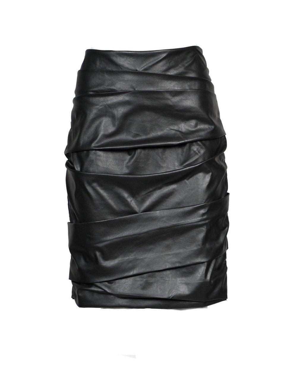 Gina Ruched Pencil Skirt Item # TPU3565
