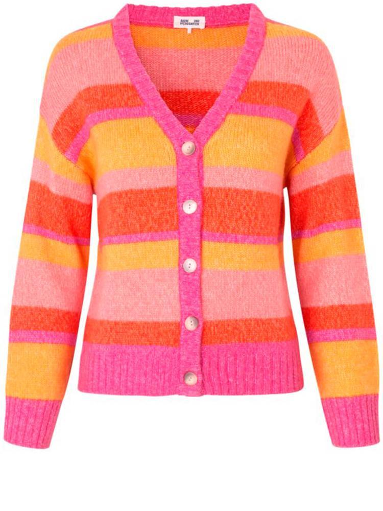 Cadi Striped Cardigan