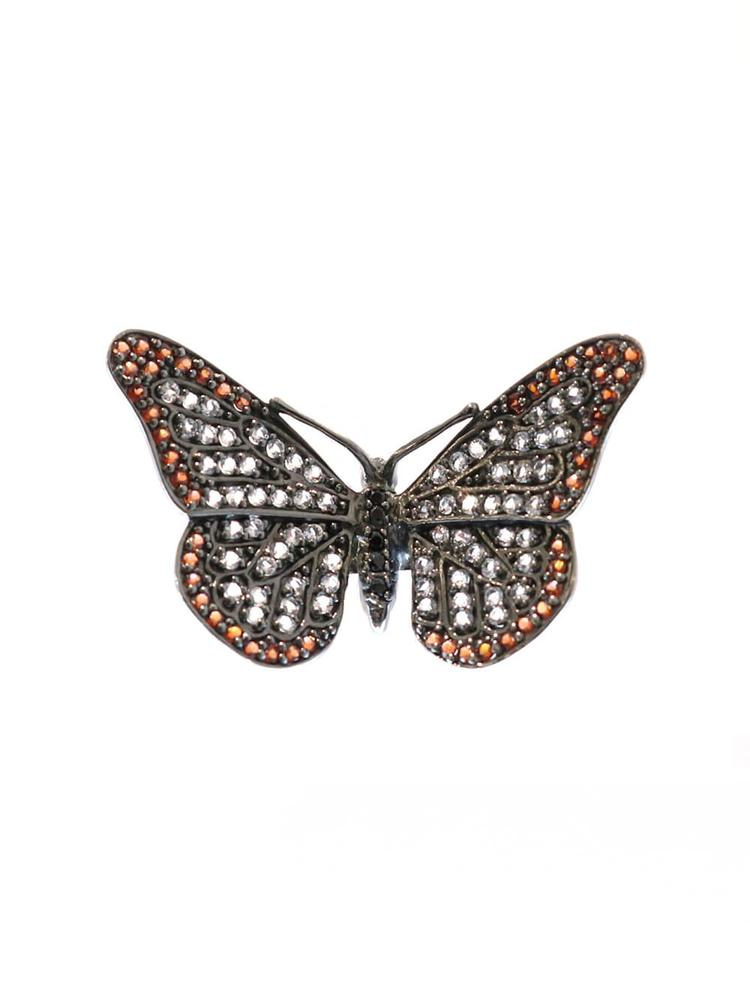 Sterling Silver Butterfly Ring Item # C02801