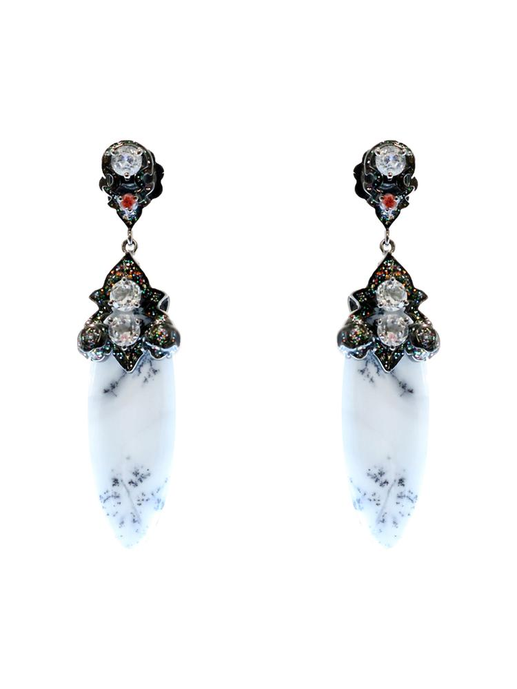 Sterling Silver Earrings Item # C02847